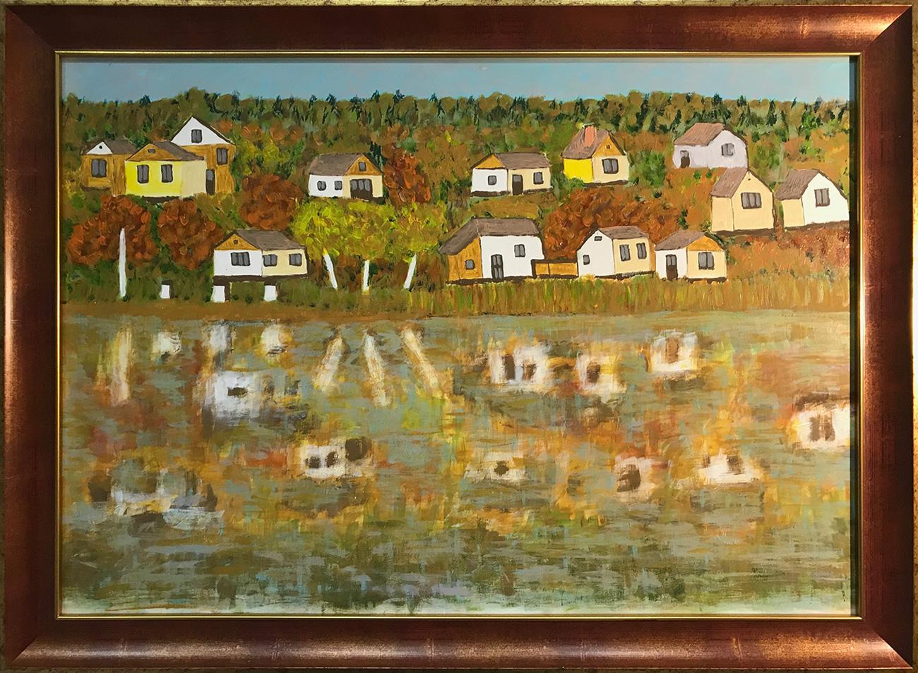 Nagy Bandó András: Úszó házak